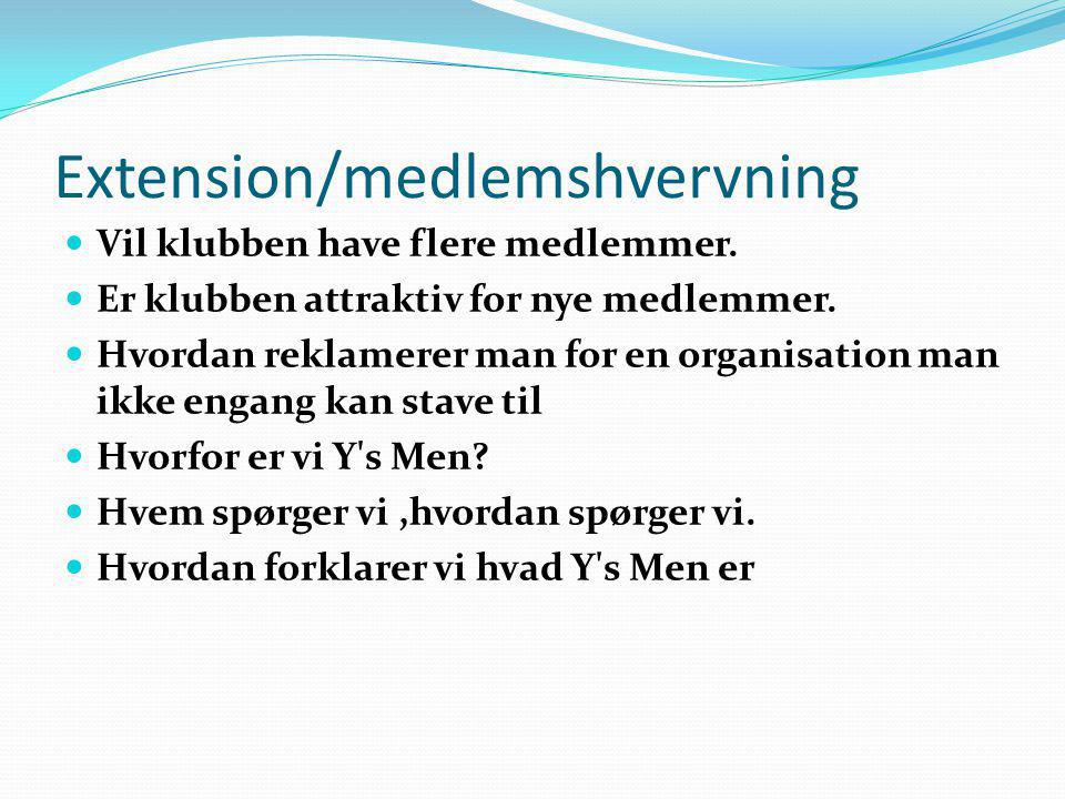 Extension/medlemshvervning