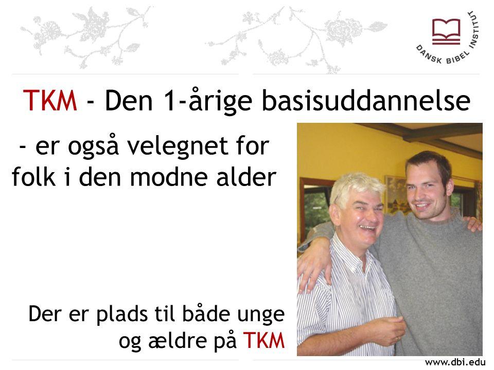 TKM - Den 1-årige basisuddannelse