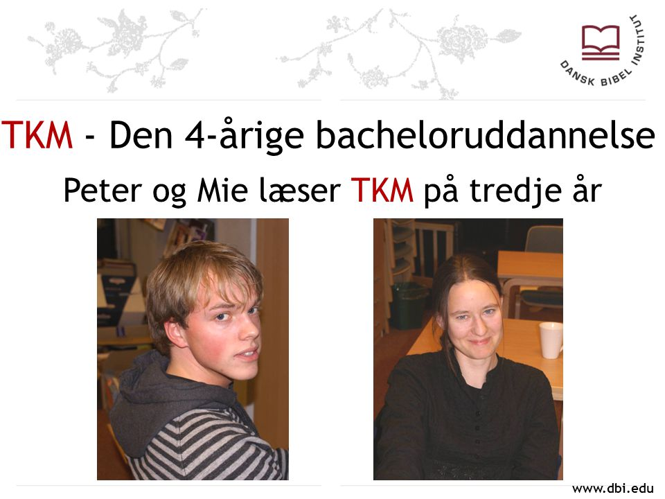 TKM - Den 4-årige bacheloruddannelse