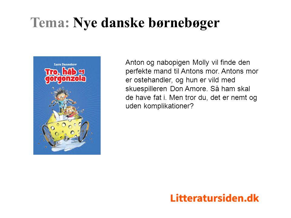Tema: Nye danske børnebøger