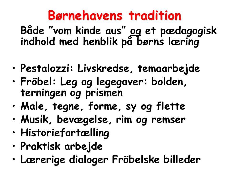 Børnehavens tradition