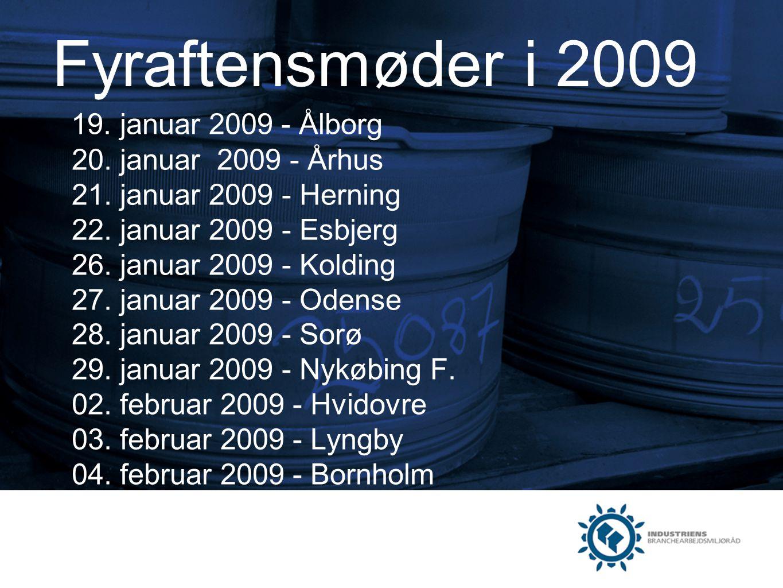 Fyraftensmøder i 2009