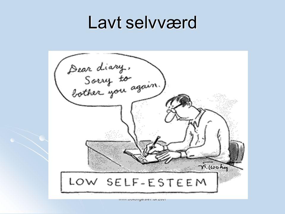 Lavt selvværd www.bokongerslev.dk 2007