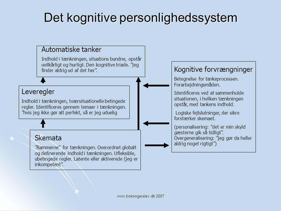 Det kognitive personlighedssystem
