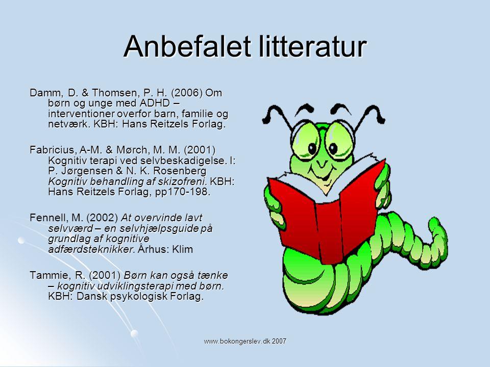 Anbefalet litteratur