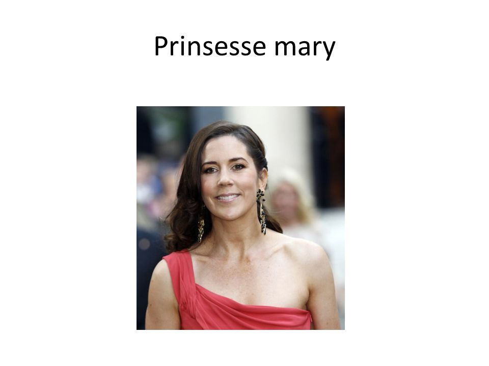 Prinsesse mary