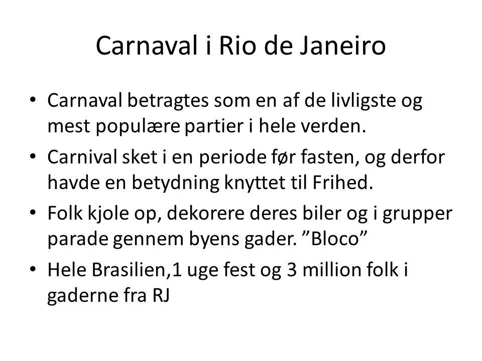 Carnaval i Rio de Janeiro