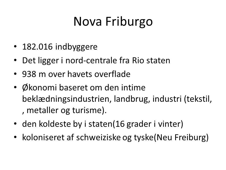 Nova Friburgo 182.016 indbyggere
