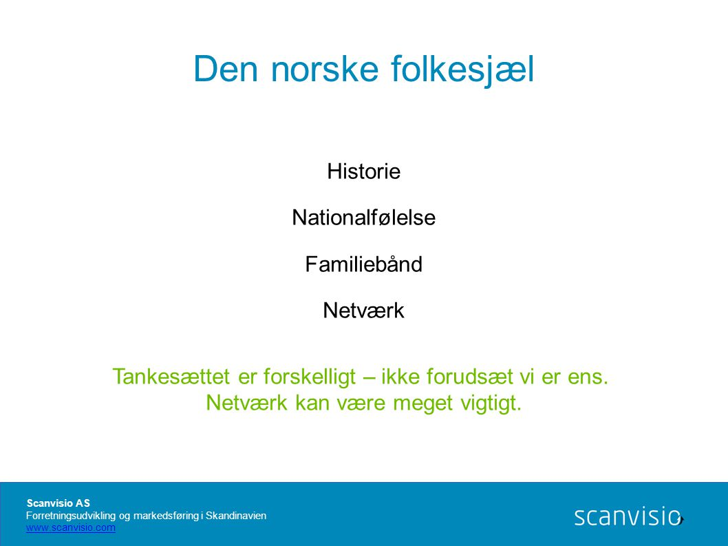 Netværk kan være meget vigtigt.