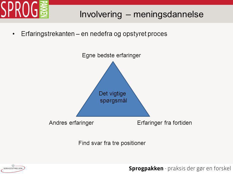 Involvering – meningsdannelse