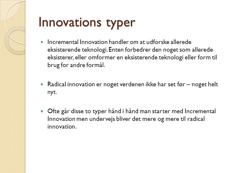 Innovations typer