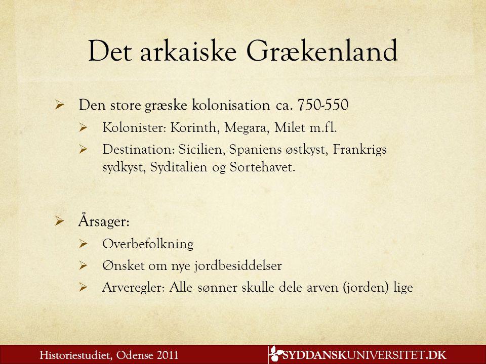 Det arkaiske Grækenland