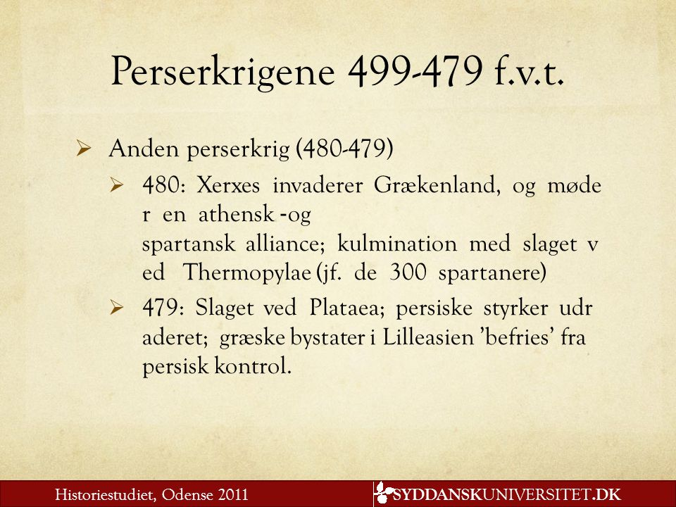 Perserkrigene 499-479 f.v.t. Anden perserkrig (480-479)