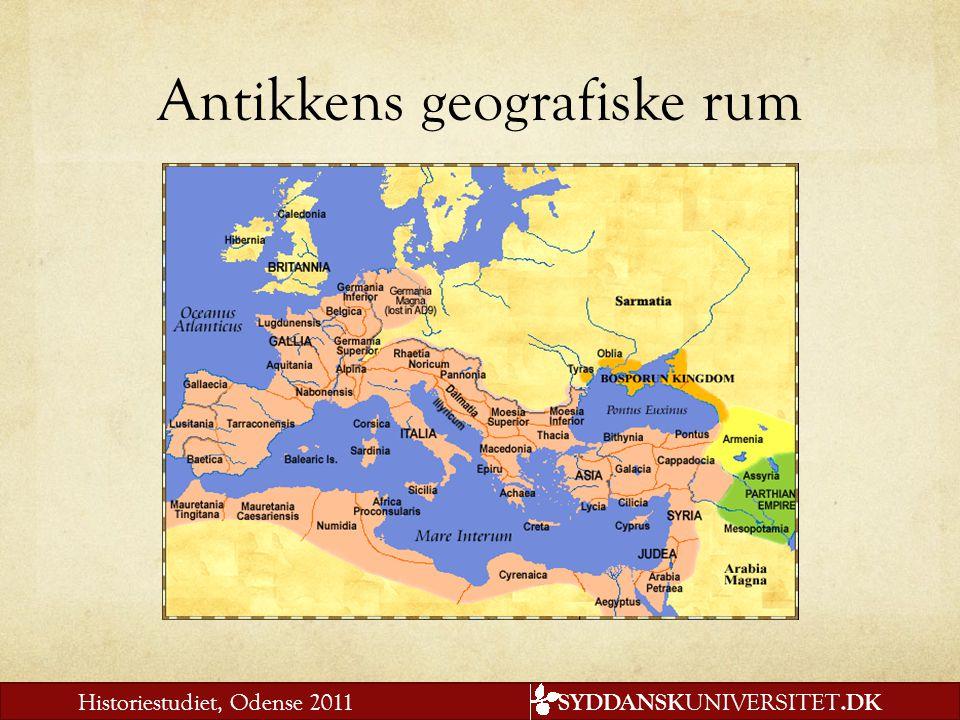 Antikkens geografiske rum