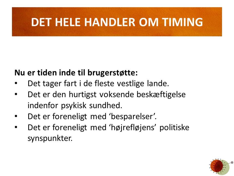 DET HELE HANDLER OM TIMING