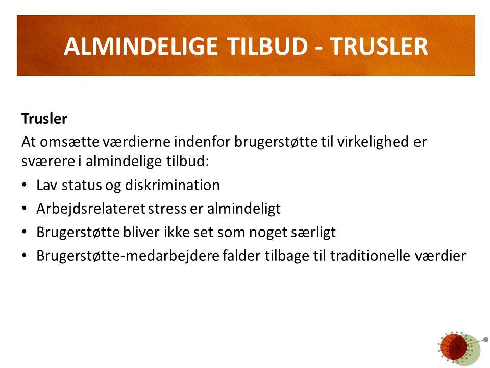 ALMINDELIGE TILBUD - TRUSLER