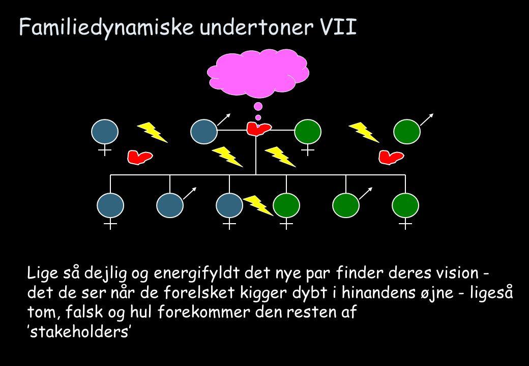Familiedynamiske undertoner VII