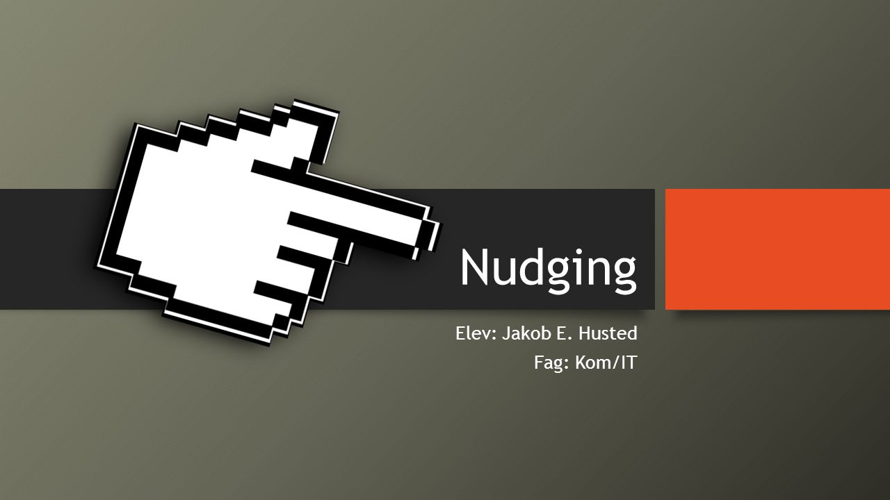 Elev: Jakob E. Husted Fag: Kom/IT