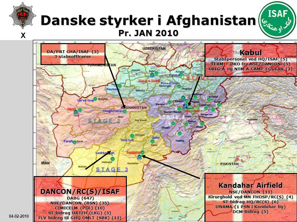 Danske styrker i Afghanistan