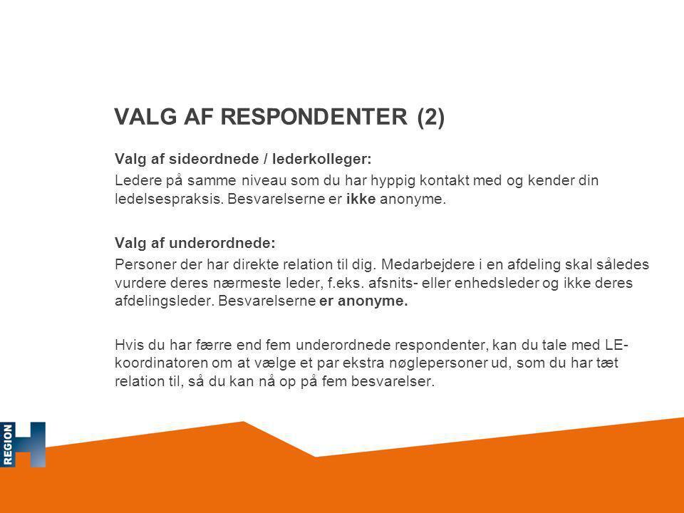 VALG AF RESPONDENTER (2)