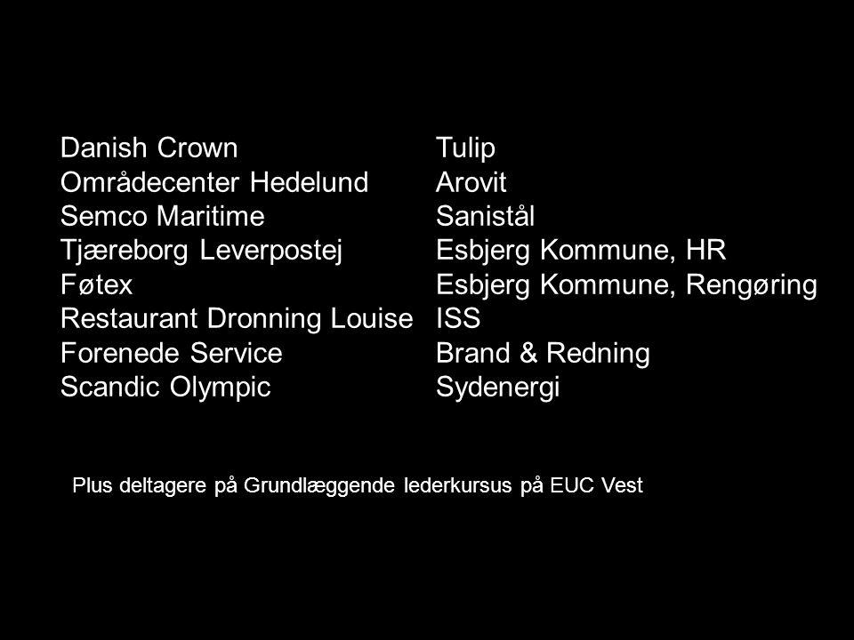 Områdecenter Hedelund Semco Maritime Tjæreborg Leverpostej Føtex