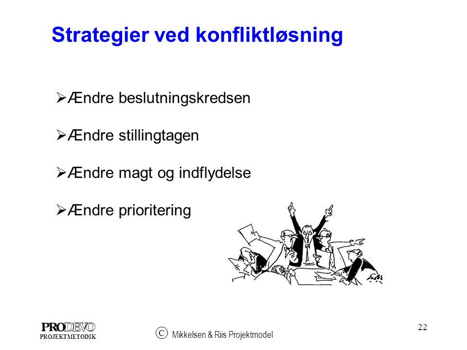 Strategier ved konfliktløsning