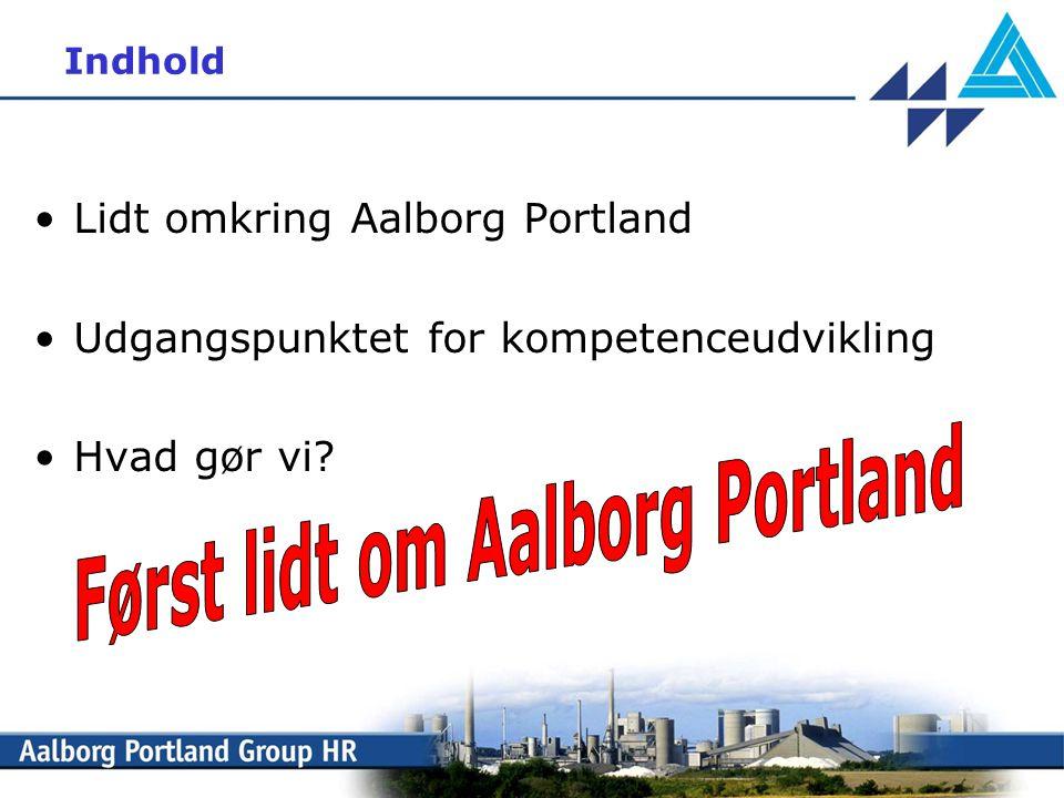 Først lidt om Aalborg Portland