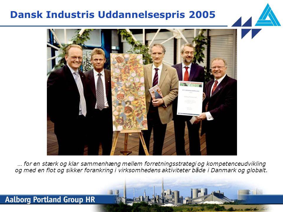 Dansk Industris Uddannelsespris 2005