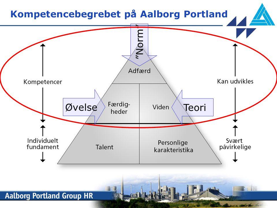 Kompetencebegrebet på Aalborg Portland