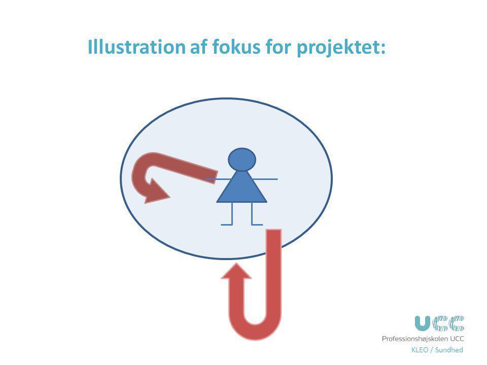 Illustration af fokus for projektet: