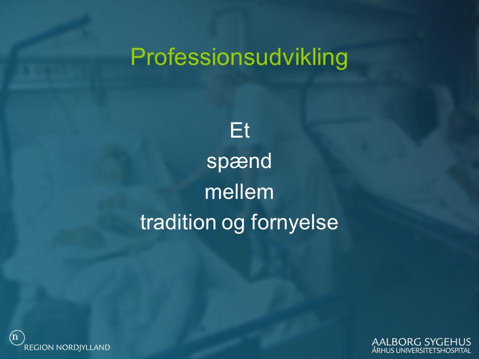 Professionsudvikling