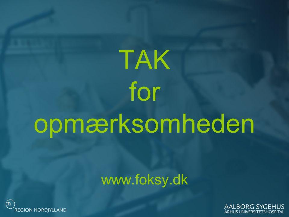 TAK for opmærksomheden www.foksy.dk