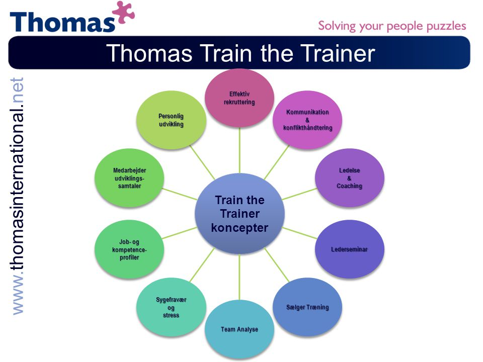 Thomas Train the Trainer
