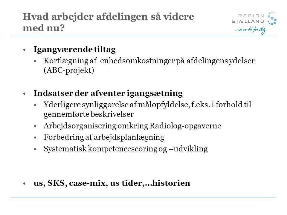 Optimering af arbejdstilrettelæggelse i Region Sjælland - ppt video online download