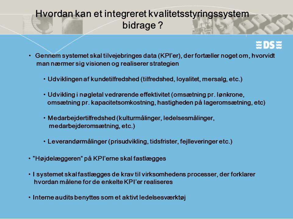 Hvordan kan et integreret kvalitetsstyringssystem