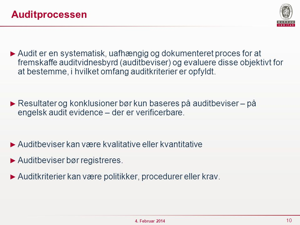 Auditprocessen