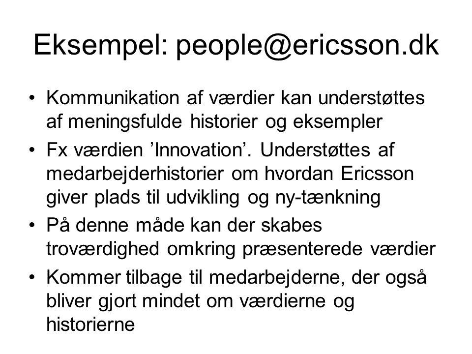 Eksempel: people@ericsson.dk