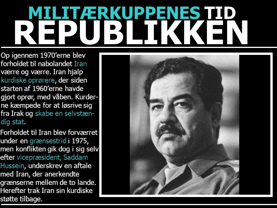 REPUBLIKKEN MILITÆRKUPPENES TID Op igennem 1970'erne blev