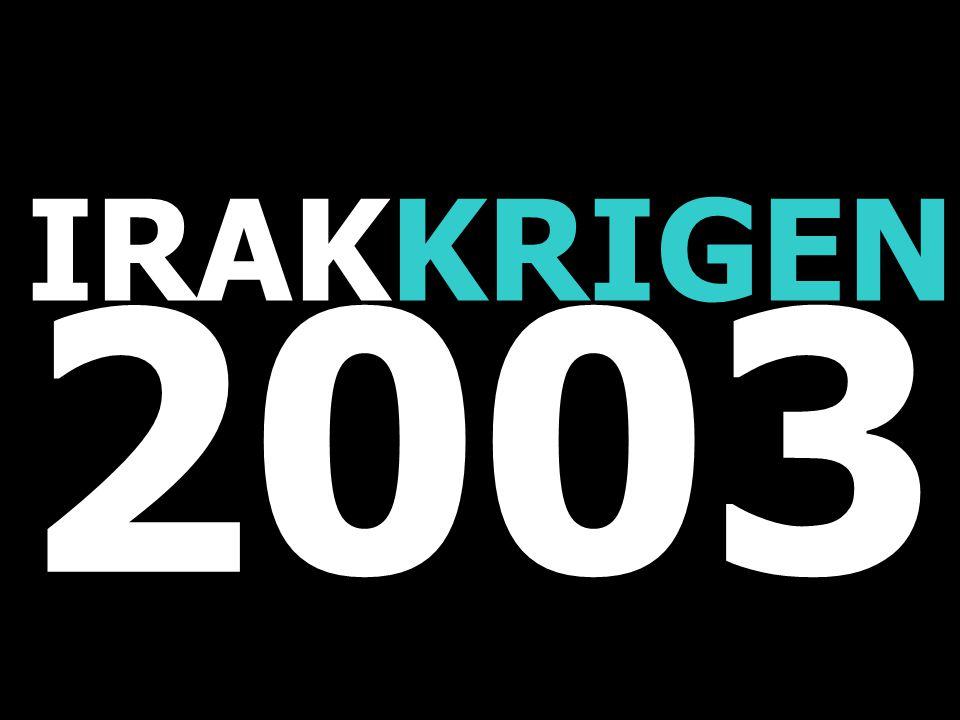 IRAKKRIGEN 2003