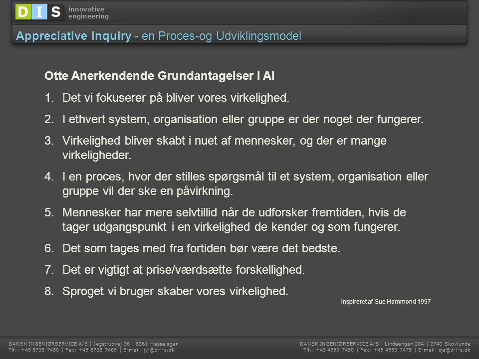 Appreciative Inquiry - en Proces-og Udviklingsmodel