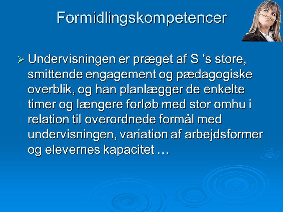 Formidlingskompetencer