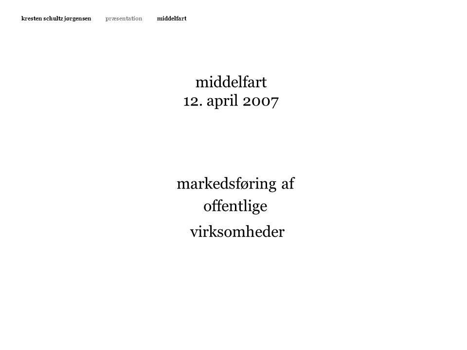virksomheder middelfart 12. april 2007 markedsføring af offentlige