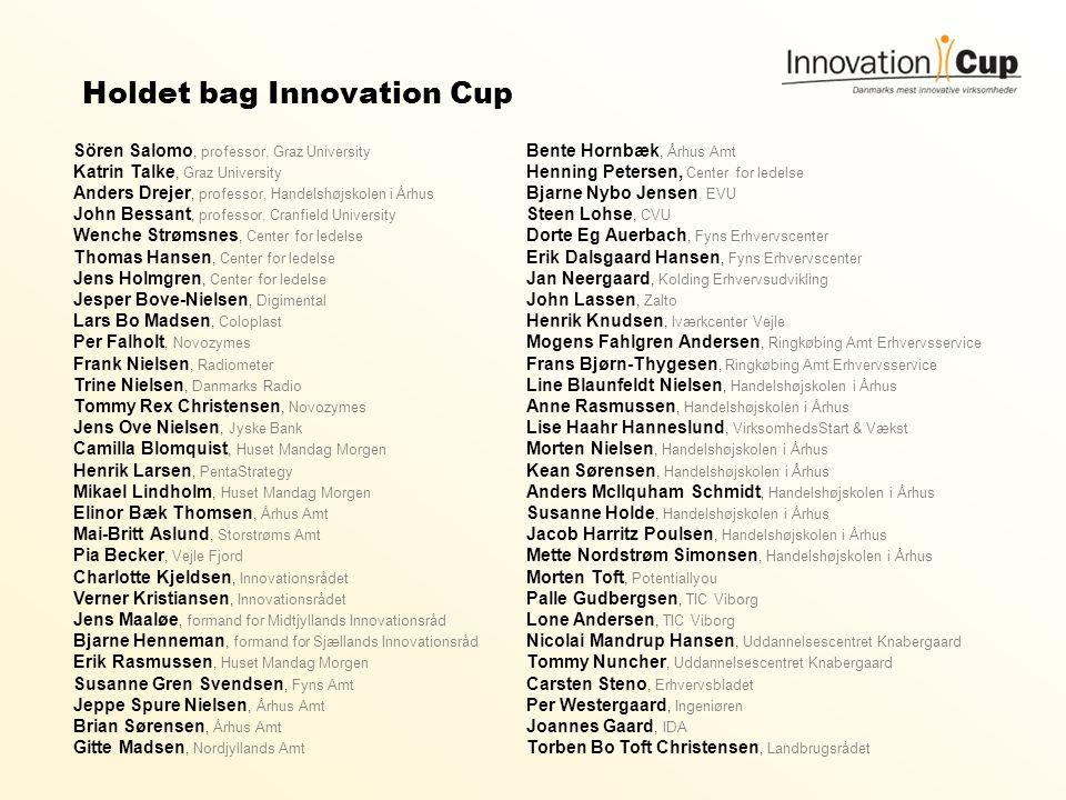 Holdet bag Innovation Cup