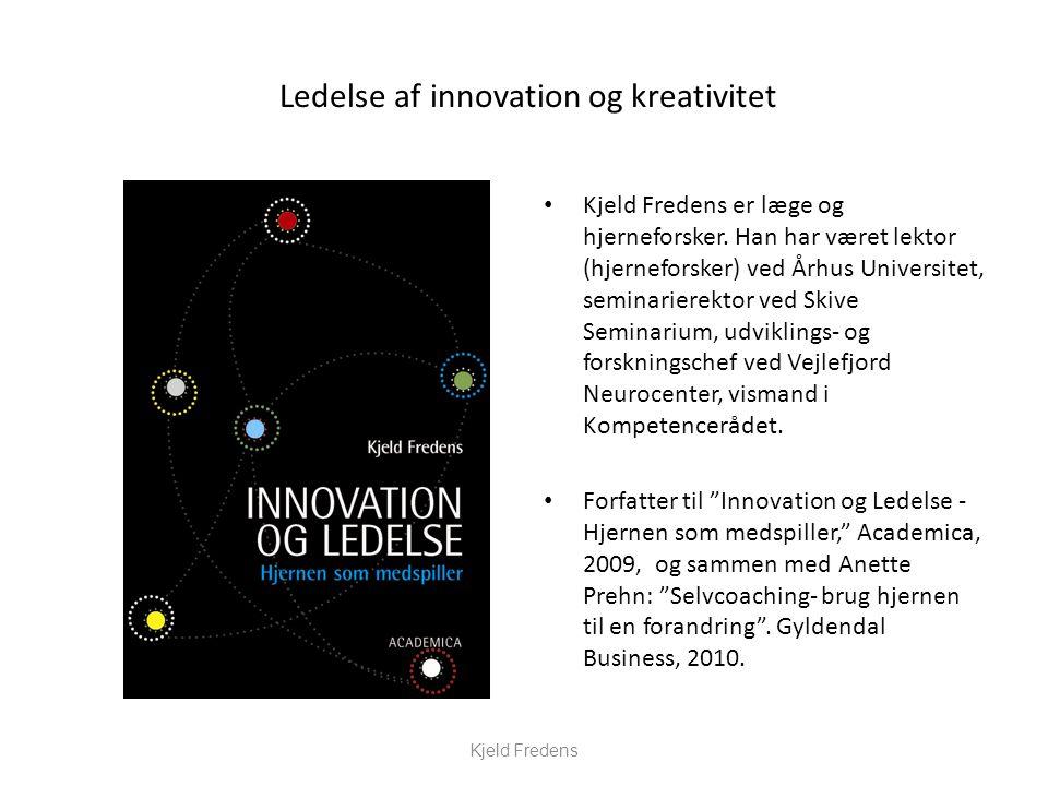 Ledelse af innovation og kreativitet