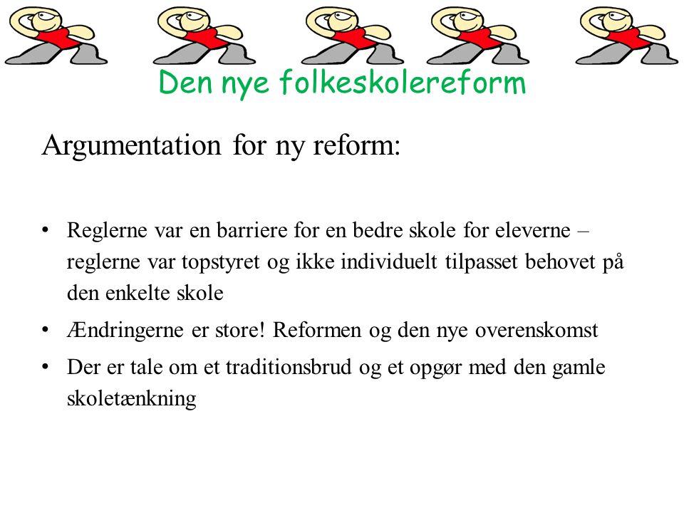Den nye folkeskolereform