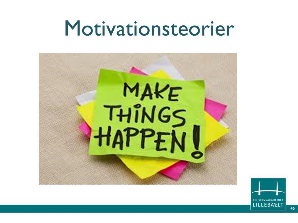 Motivationsteorier