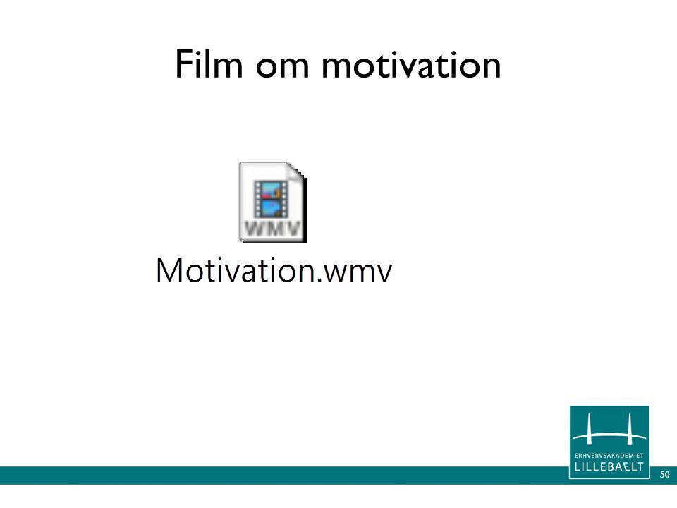 Film om motivation