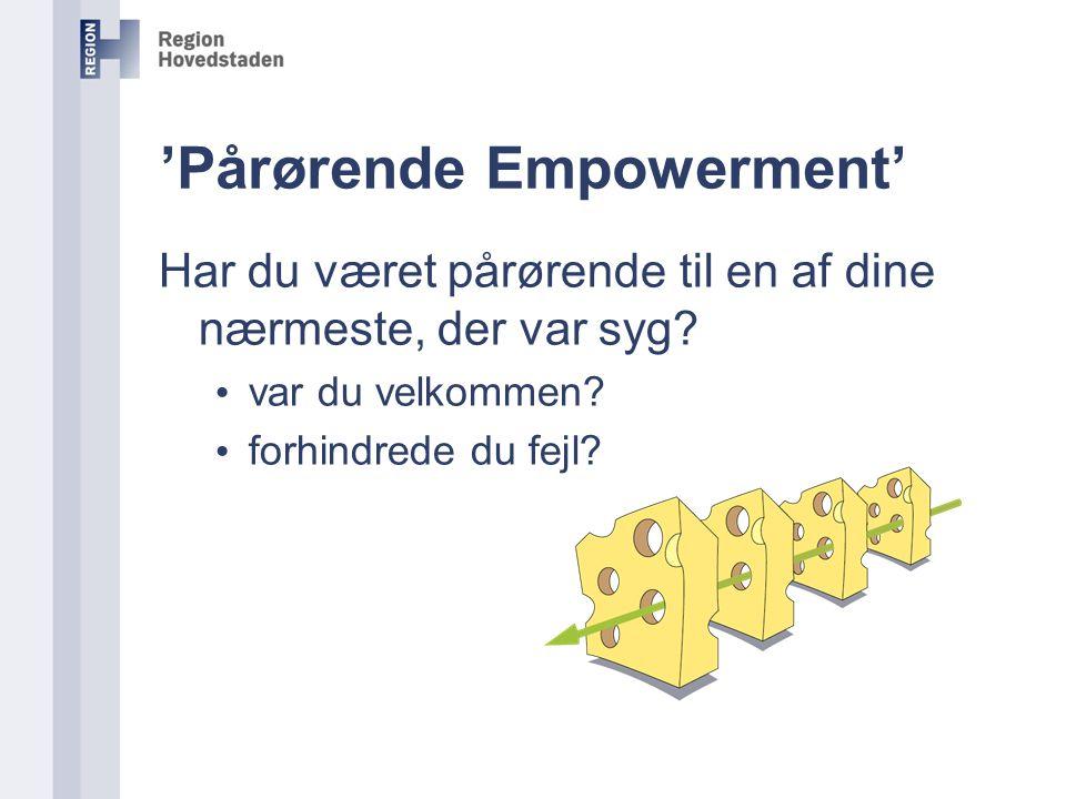 'Pårørende Empowerment'