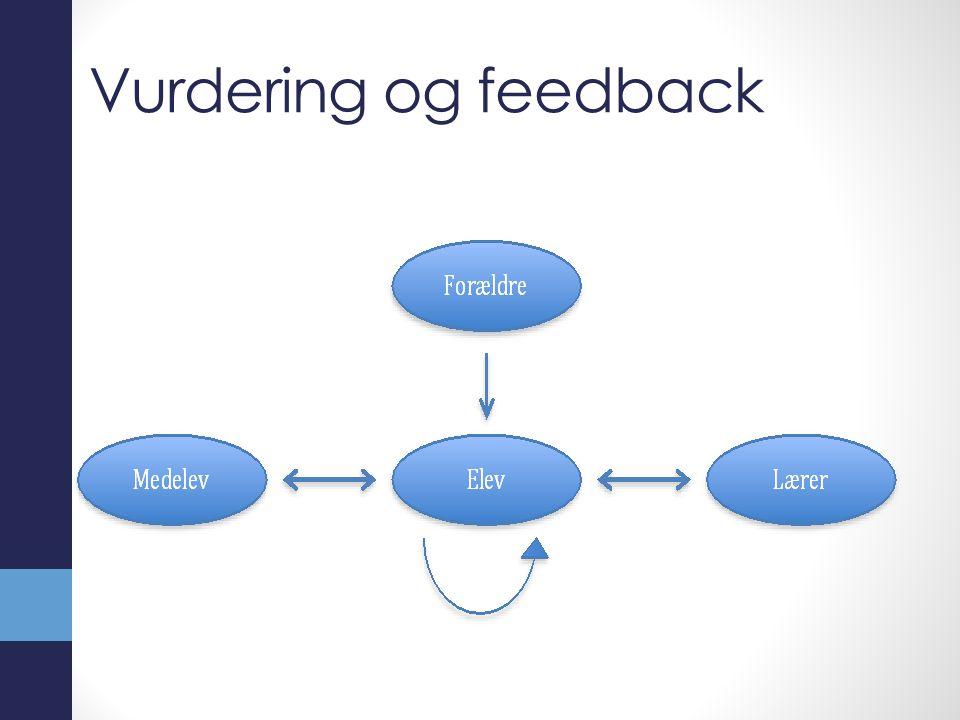 Vurdering og feedback