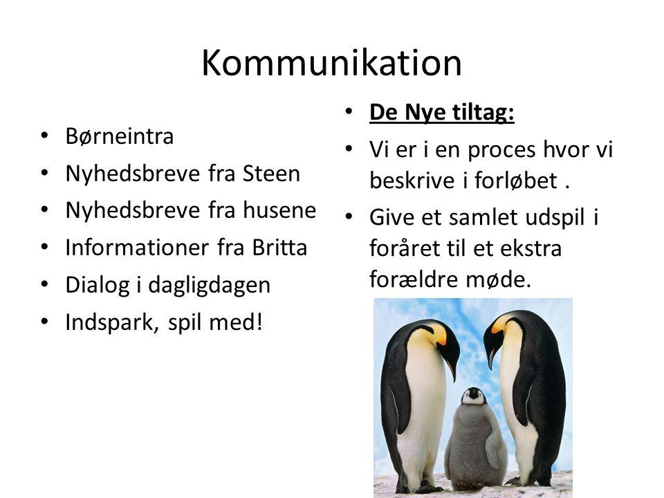 Kommunikation De Nye tiltag: